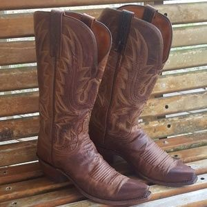 1883 Snip Toe Mad Dog Goat Leather Boots 6.5